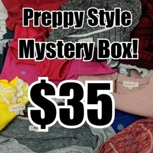 Preppy Style Part Mystery Box